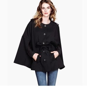 Stunning, new, Black, cape from H&M!